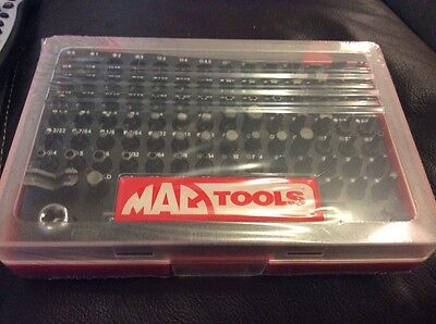Mac Tools. 100 Bits Set. 1/4 Drive  TORX Hex Screwdriver bits  Sealed and new