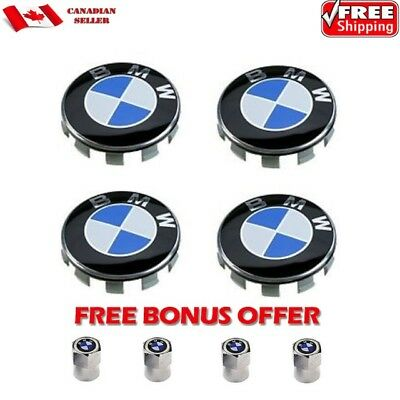 4pcs BMW Wheel Center Hub Caps for 3 5 6 7 Series X6 X5 X3 Z3 Z4 68mm