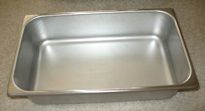 """Polar Ware E1654 Stainless Steel Instrument Tray 16-1/2"""" x 10"""" x 4"""" H"""