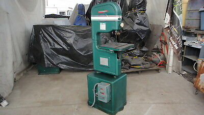 Powermatic 14'' Vertical Bandsaw Model 141 Works Good