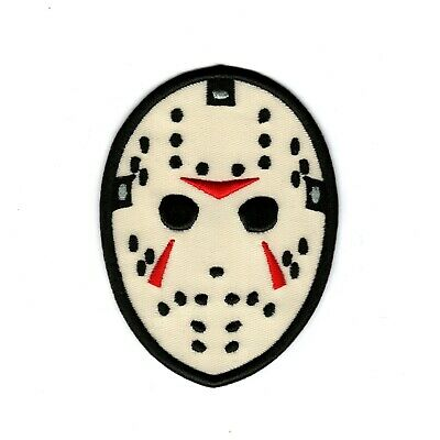 Jason Vorhees Embroidered Iron-On Patch Friday the 13th