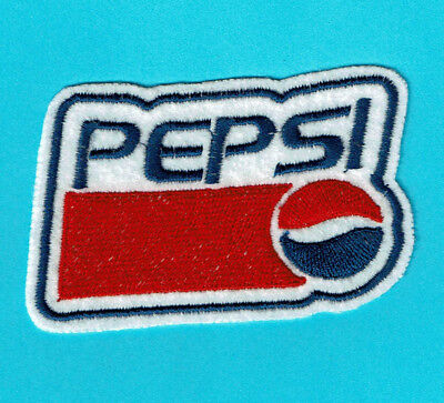 Pepsi Embroidered Iron-On Patch