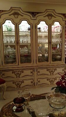 ROMWEBER  Vintage French Provincial Dining room Set Handcrafted