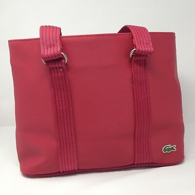 cf560d6fce LACOSTE TOTE BAG Red, New with out Tags - $39.99 | PicClick