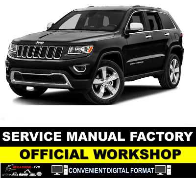 Jeep Grand Cherokee Wk Wk2 Workshop Service Manual 2005 - 2017 + Wiring Download