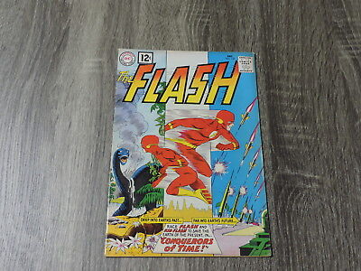 """Flash #125  """"conquerors Of Time!"""" 1961"""