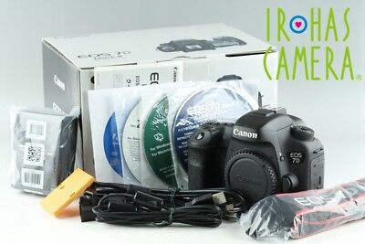 Canon EOS 7D Mark II Digital SLR Camera With Box*Shutter Count 63620*#18311#8/31
