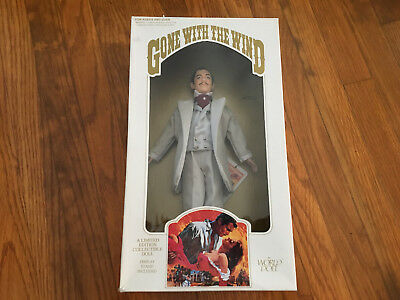 NIB Rhett Butler Grey Suit World Doll Limited Ed Gone with the Wind 1989 GWTW