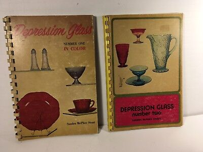Depression Glass, Number One And Two In Color, Sandra Mcphee Stout