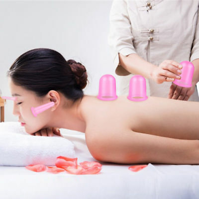 Anti-Cellulite Silicone Body And Facial Massage Cups Medical Cupping Therapy