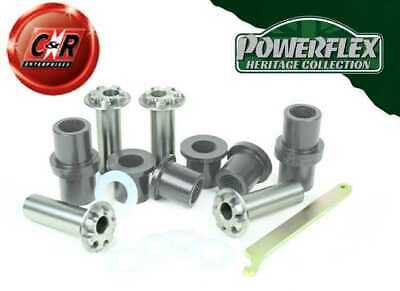 BMW E30 3 Series 82-91 Powerflex Heritage Rr Trail Arm Bushes Adjust PFR5-306GH