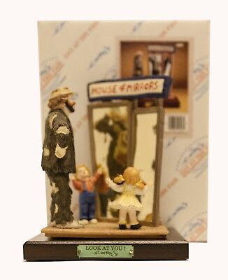"""Emmett Kelly Jr """"look At You"""" Limited Edition Figurine"""