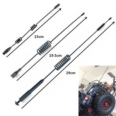 Metal Antenna Decoration For 1/10 RC TRAXXAS 82056 TRX4 DEFENDER CRAWLER Parts