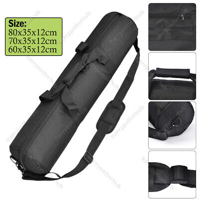 60/70/80cm Zipper Padded Strap Camera Tripod Stand Holder Carry Bag Case Travel