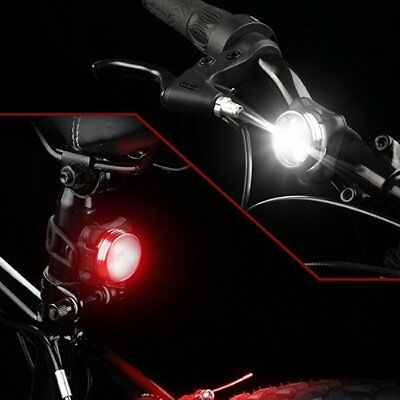 Rechargeable High Power Usb Front & Rear Bike Cycle Bicycle Lights Light Set Uk