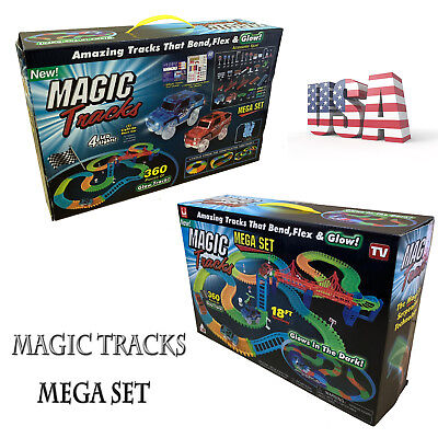 Magic Tracks 18 ft 360 PCS Mega Set US Fast Delivery