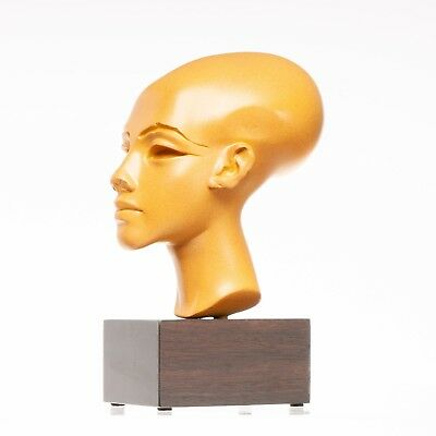Bust of Pharaoh Akhenaten circa 1340 BC. Sculpture. Art, Gift, Ornament.