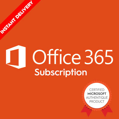Microsoft Office 365 Official 5 device Account 2019 Full Win/Mac/iOS