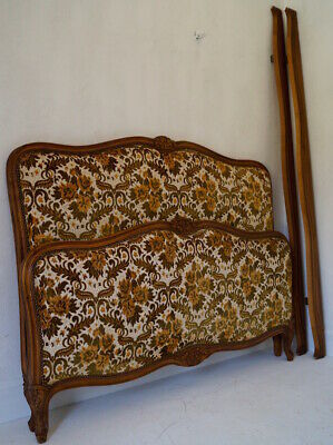 Vintage French Double / Kingsize Bed Frame inc. Reupholstery (exc. fabric)