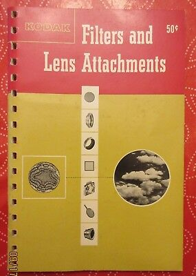 1950 Kodak Filters & Lens Attachments publication