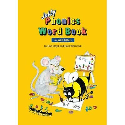 Jolly Phonics Word Book - Paperback NEW Sue Lloyd (Auth 2003-01-01