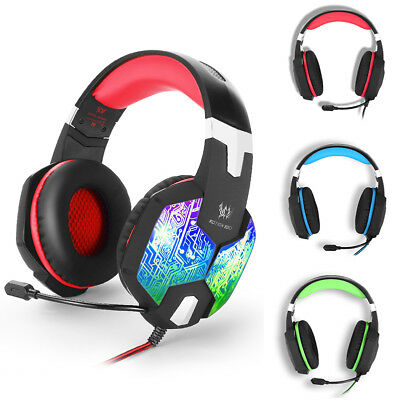 3.5mm Gaming Headset Mic Headphone Stereo Surround for PS4 Xbox ONE PC Phone CHZ
