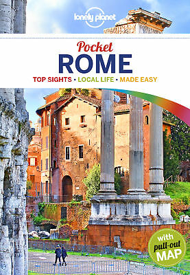 Lonely Planet Pocket Rome Travel Guide 2018 BRAND NEW 9781786572585