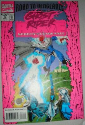 GHOST RIDER BLAZE 16 NM- NOV 1993 Spirits of Vengeance modern age SEE MORE
