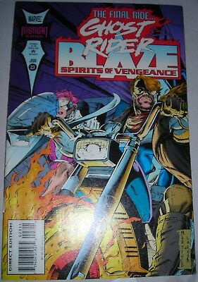 GHOST RIDER BLAZE 23 VF+ July 1994 Spirits of Vengeance modern age MORE LISTED