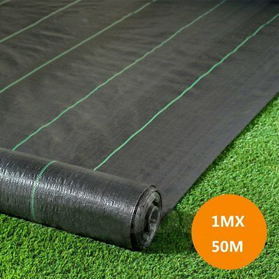 1M Heavy Duty Weed Control Fabric Membrane Ground Cover Sheet Garden Landscape U