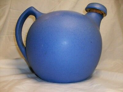 NILOAK Matte Blue Water Pitcher with Stopper