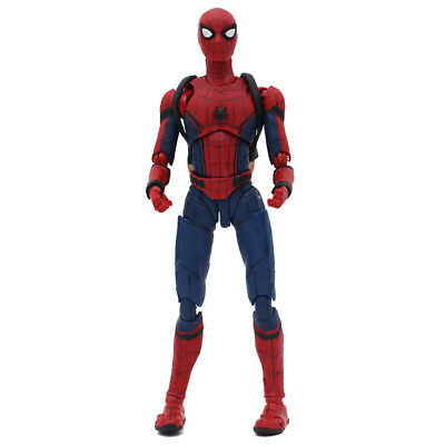 Best Gift Spider Man Homecoming Spiderman PVC Action Figure Model Toy for Kids