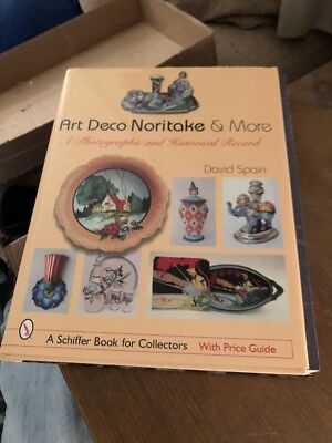 Art Deco Noritake & More - Spain, David - Hardcover Book