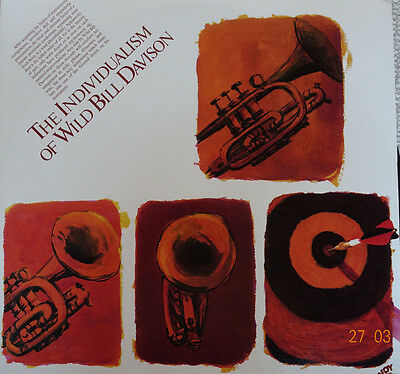 Jazz DoLp - Vinyl - THE INDIVIDUALISM OF WILD BILL DAVISON