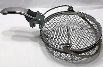 Used Delonghi Basket and Handle Only for Roto Fryer from D28313-UX.BK