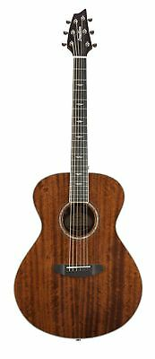 Breedlove Stage Concert Mahogany Acoustic Electric Guitar with Gigbag