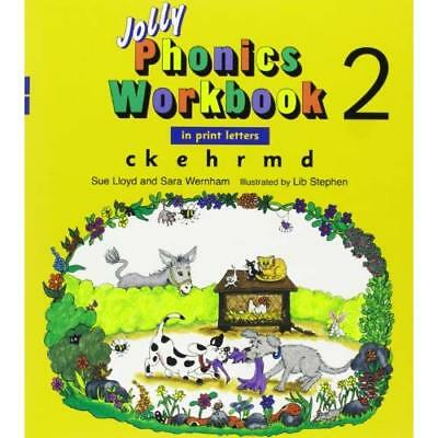 Jolly Phonics Workbook 2 - Paperback NEW Sue Lloyd 2008-01-31