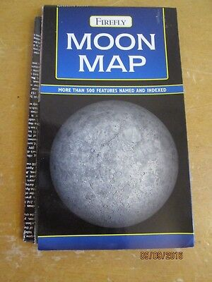 Map of the Moon - Firefly - John Murray 500 Features Named and Indexed
