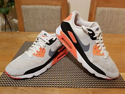 best loved 06f98 e7513 Nike Air Max 90 Ultra Essential Trainers Mens Size Uk10 Eur45 Genuine