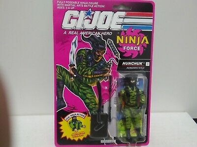 1991 GI JOE A Real American Hero Ninja Force Nunchuk MOC Unopened ARAH