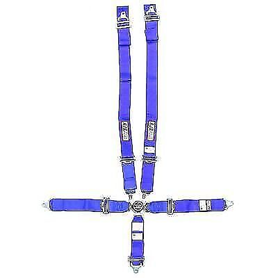 RJS Safety 1034903 Wrap Around 5 Point Cam Lock Harness (Blue)