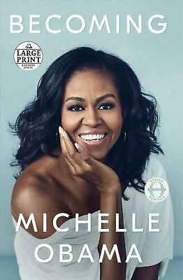 Becoming by Michelle Obama (English) Paperback Book Free Shipping!