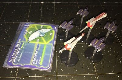 Star Wars Micro Starship Battles Lot X6 Asajj Ventress's Grievous's 45/60 49/60
