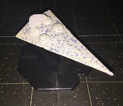 Star Wars Starship Battles Imperial Interdictor Cruiser Space Ship 34/60 Machine
