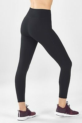 7c76d3c947ff3 FABLETICS S/8/36 HIGH-WAISTED Solid POWERHOLD 7/8 LEGGING £65 in ...