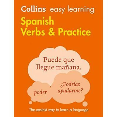Easy Learning Spanish Verbs and Practice (Collins Easy  - Paperback NEW Collins
