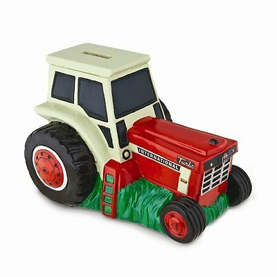 International IH Turbo Farm Tractor Safe Piggy Bank FARMALL 1066 New in Gift Box