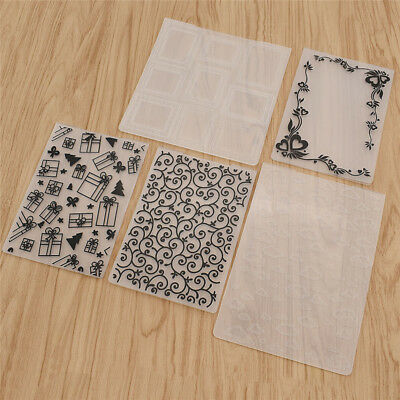 1pc Plastic Various Embossing Folders Template Scrapbooking Cards Making Craft