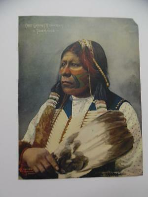 1898 Frank Rinehart Indian Color Photo Print Chief Grant Richards Tonkawa Omaha