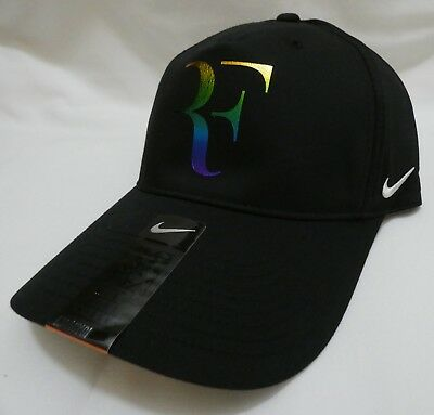 cca546847c3 Nike RF Roger Federer Iridescent Legacy91 Dri-Fit Adjustable Hat 835536-010